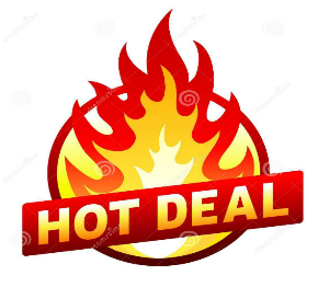 Hot Deal<BR />1-6 May